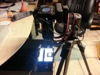 Canon EOS 7D mit Kaiser Slimlite 2420