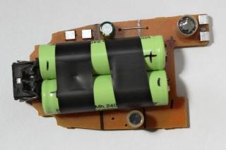 Braun 8588 - Platine oben mit AustauschAkku